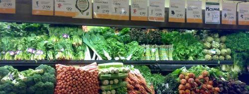 Organic produce narrow