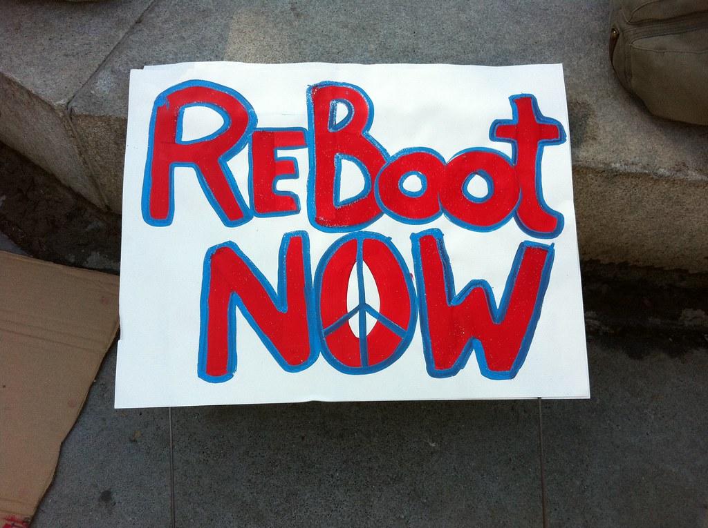 reboot now